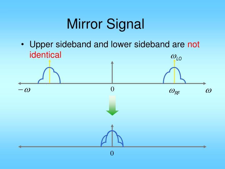 Mirror Signal