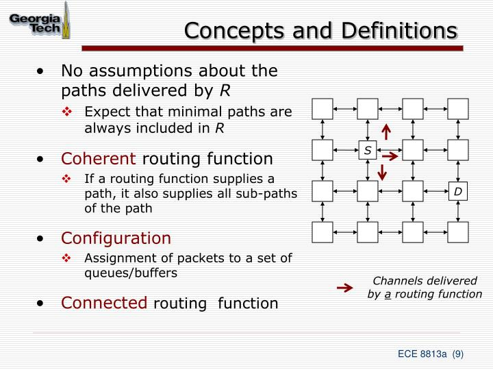 Concepts and Definitions