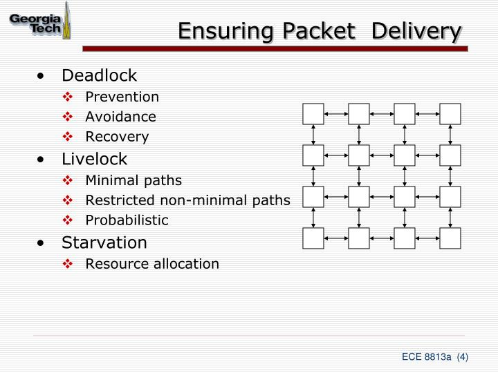 Ensuring Packet  Delivery