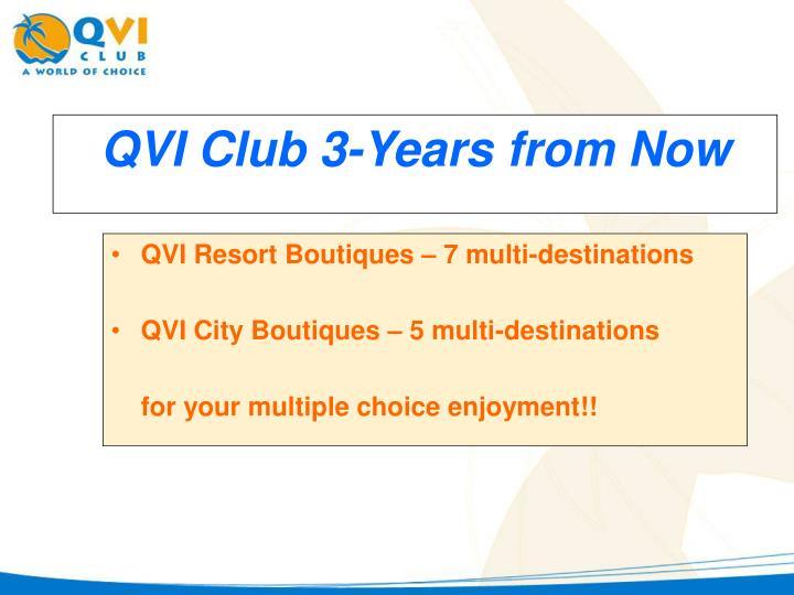 QVI Resort Boutiques – 7 multi-destinations