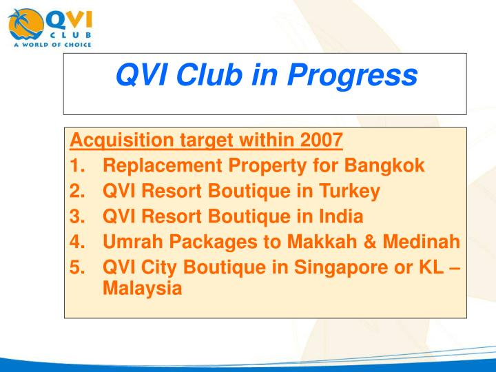 Acquisition target within 2007
