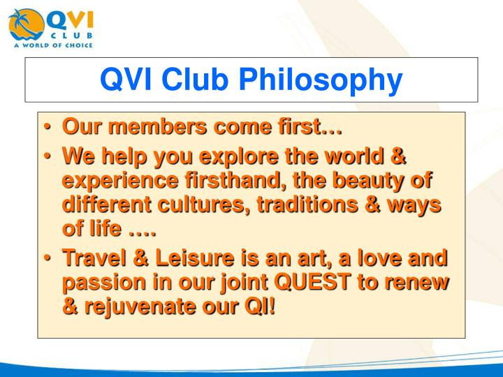 Our members come first…