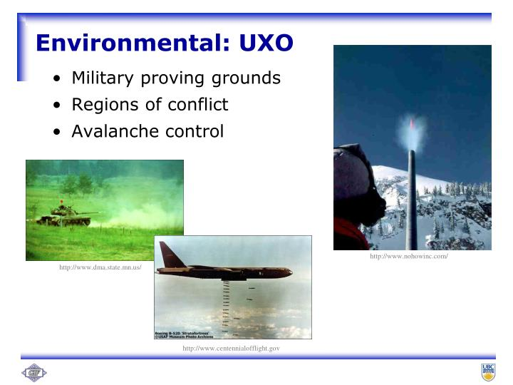 Environmental uxo