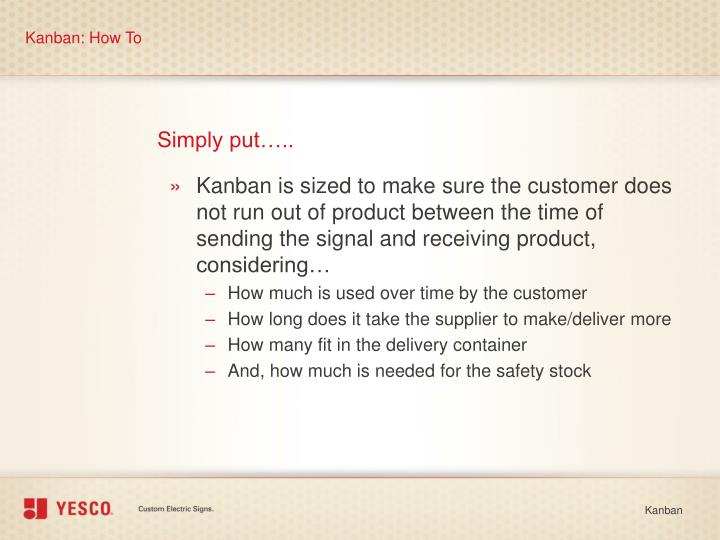 Kanban: How To