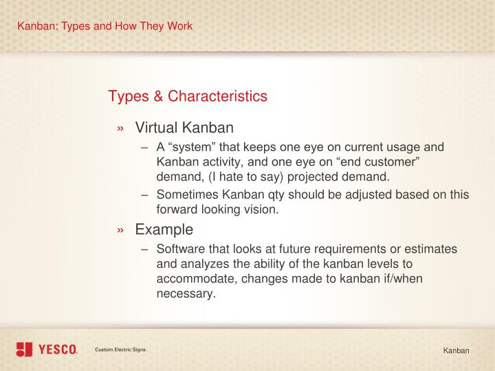 Kanban: Types and How They Work