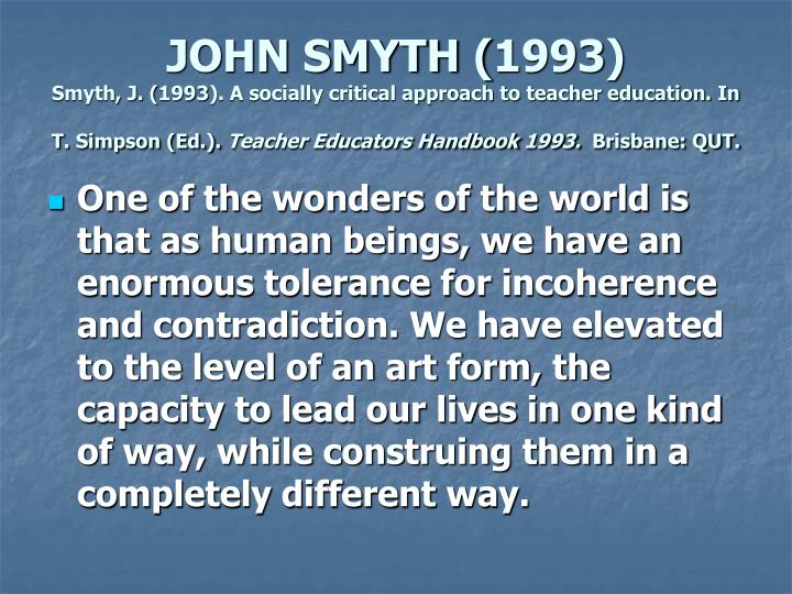 JOHN SMYTH (1993)