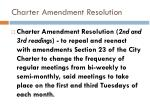 charter amendment resolution