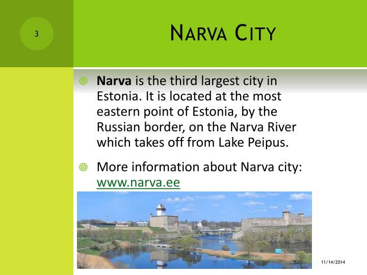 Narva c ity