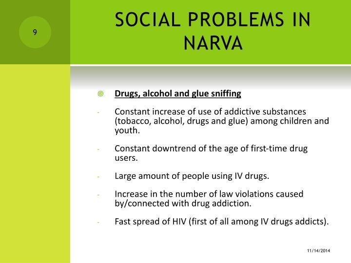 SOCIAL PROBLEMS IN NARVA