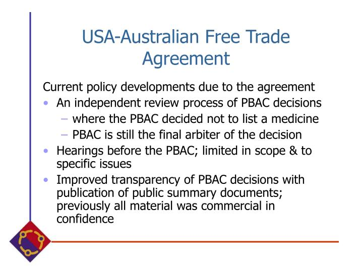 USA-Australian Free Trade Agreement