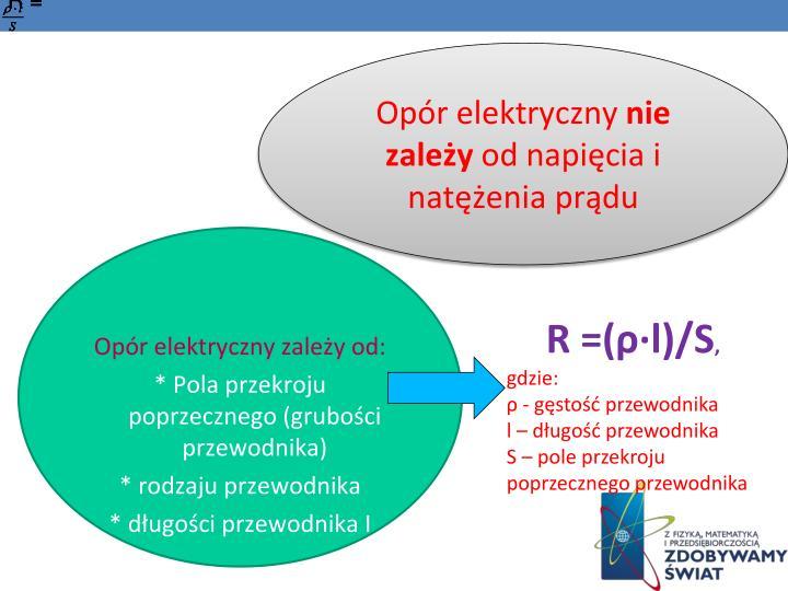 Opór elektryczny