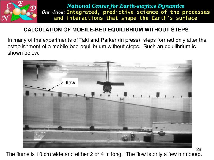 National Center for Earth-surface Dynamics