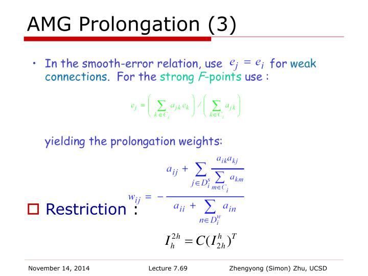 AMG Prolongation (3)