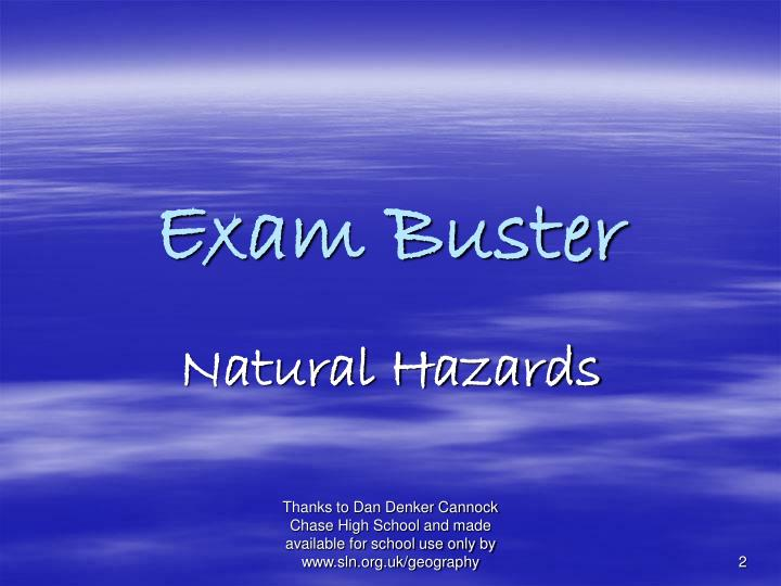 Exam buster