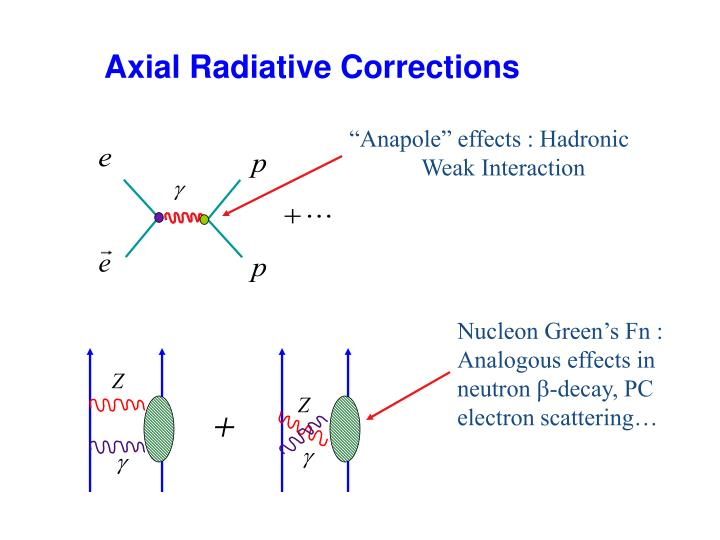 """""""Anapole"""" effects : Hadronic       Weak Interaction"""