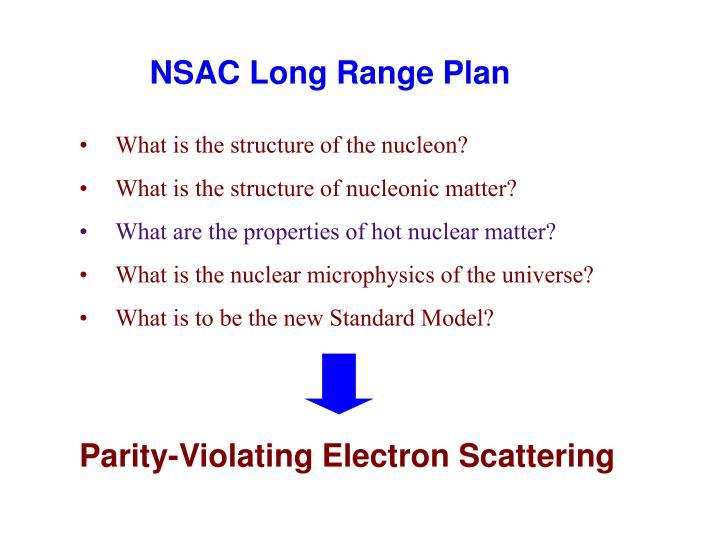 Nsac long range plan1