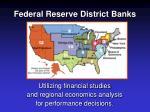 federal reserve district banks
