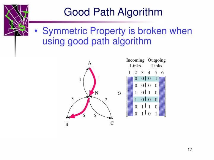 Good Path Algorithm