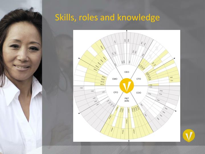 Skills, roles and knowledge
