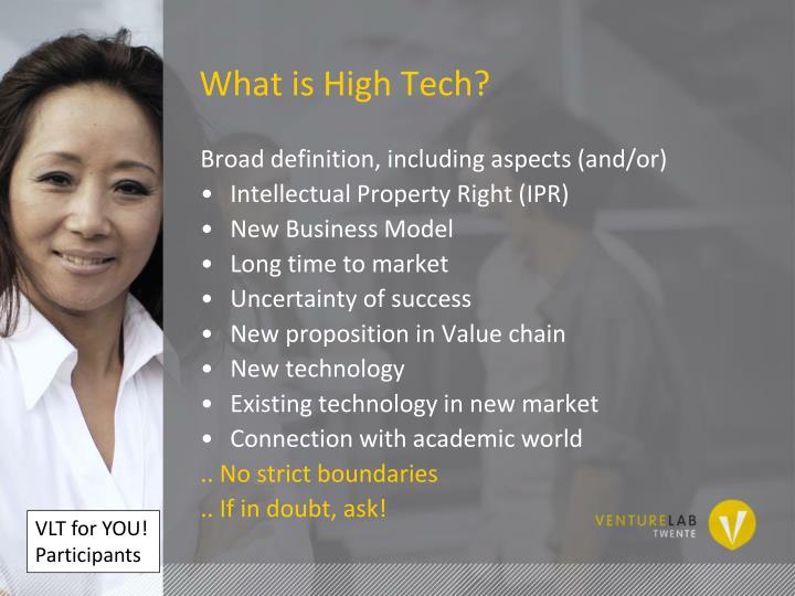 What is High Tech?