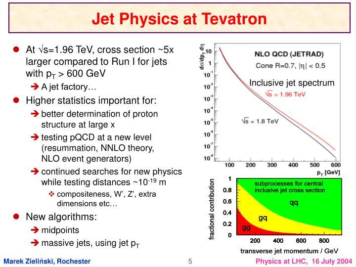 Jet Physics at Tevatron