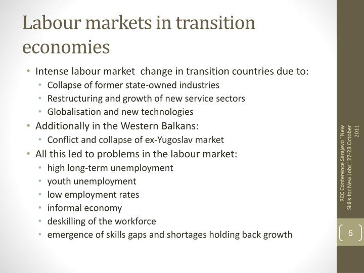Labour markets in transition