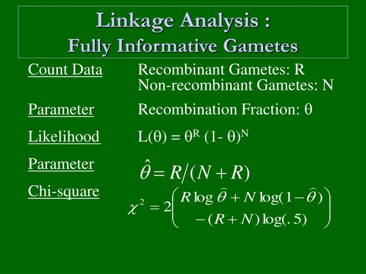 Linkage Analysis :