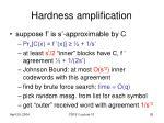 hardness amplification2