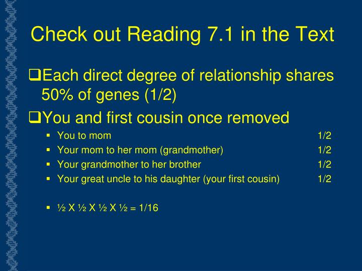 Check out Reading 7.1 in the Text