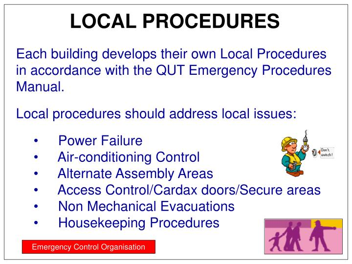 LOCAL PROCEDURES