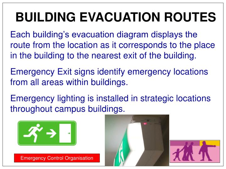 BUILDING EVACUATION ROUTES
