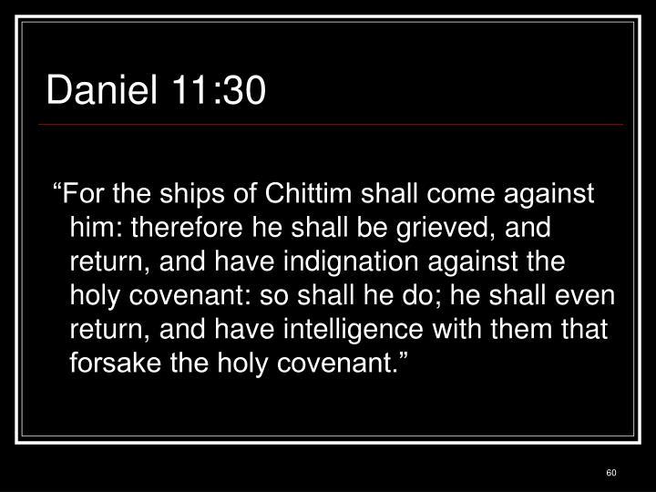 Daniel 11:30