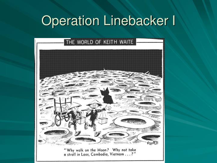 Operation Linebacker I