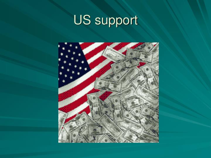 US support