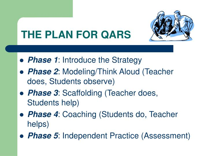 THE PLAN FOR QARS