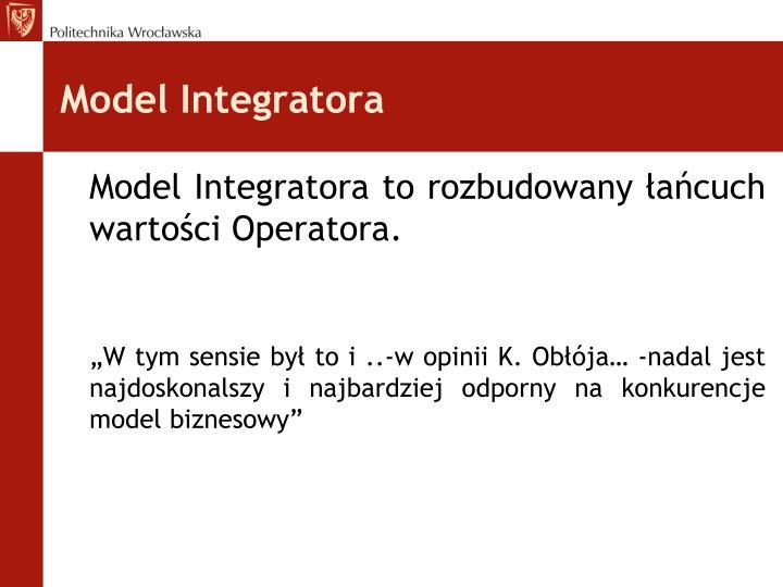 Model Integratora