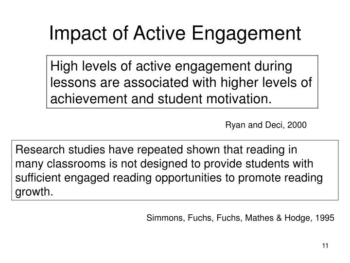 Impact of Active Engagement