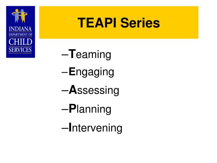 TEAPI Series