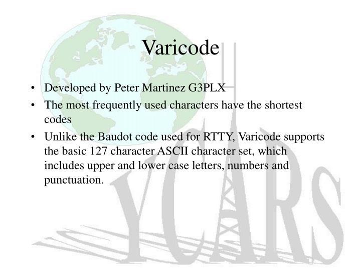 Varicode