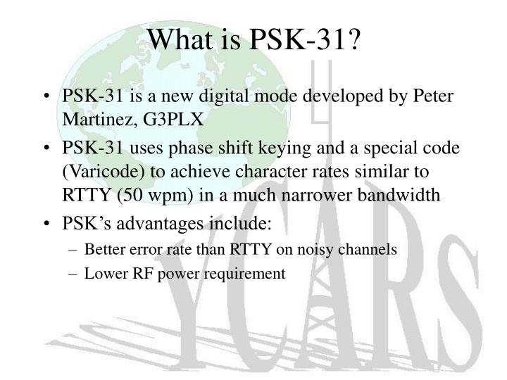 What is psk 31