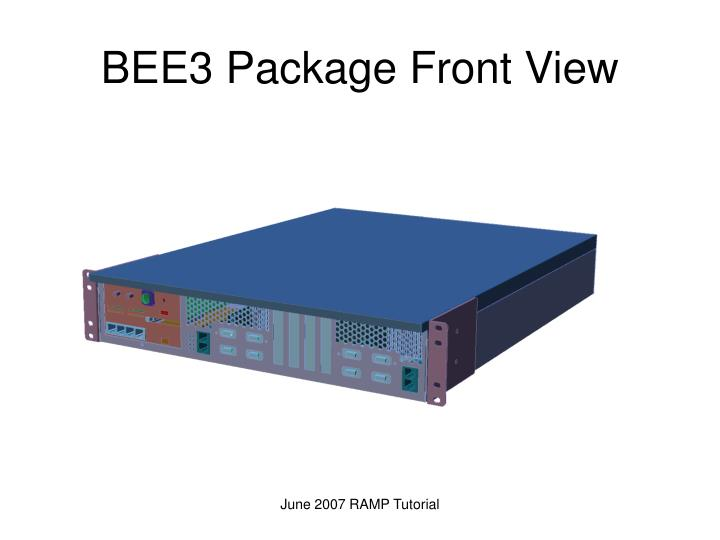 BEE3 Package Front View
