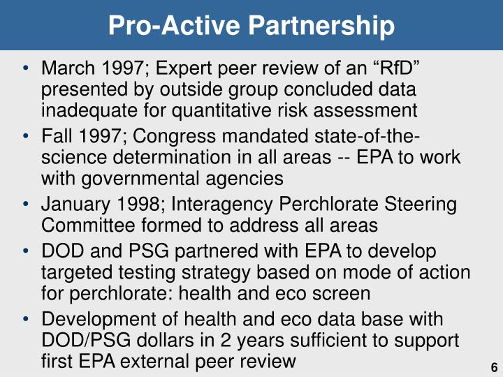 Pro-Active Partnership