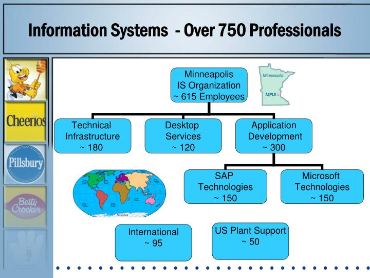 Information Systems  - Over 750 Professionals