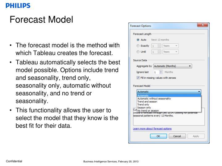 Forecast Model