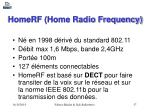 homerf home radio frequency