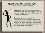 questioning the author qta mckeown beck worthy 1993