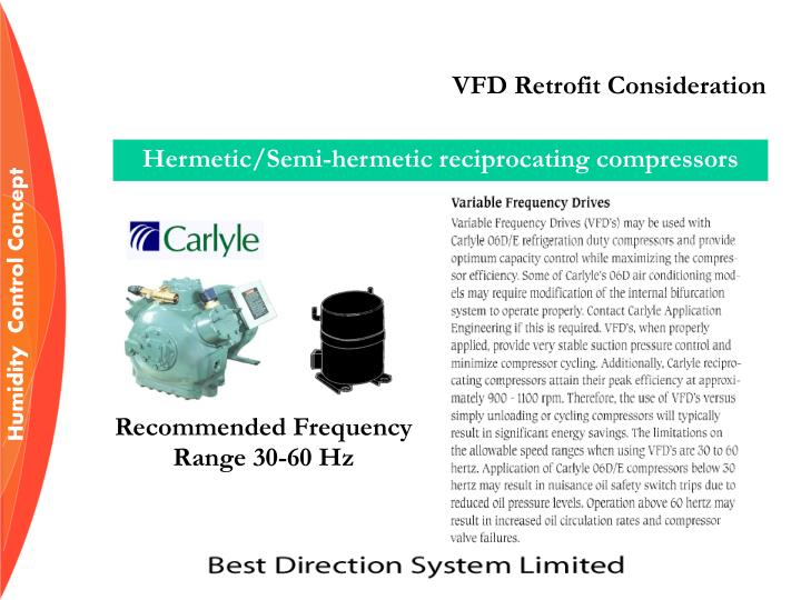 VFD Retrofit Consideration