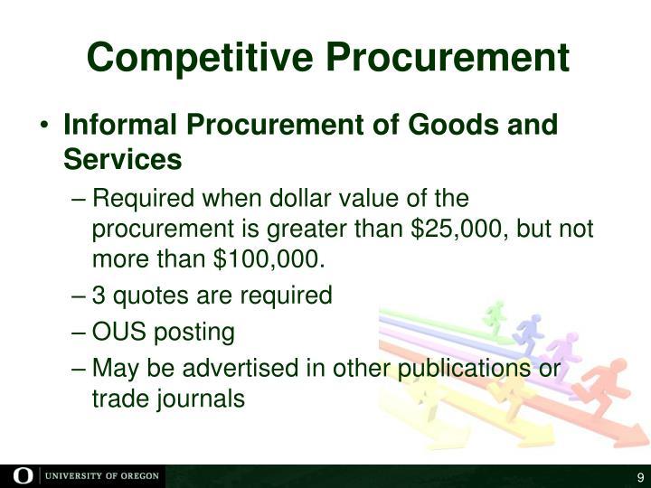 Competitive Procurement