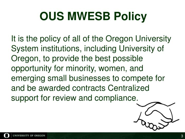Ous mwesb policy
