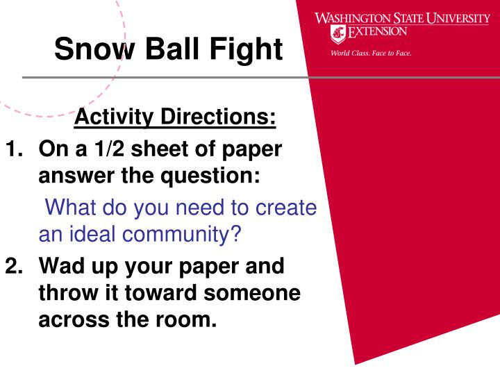 Activity Directions: